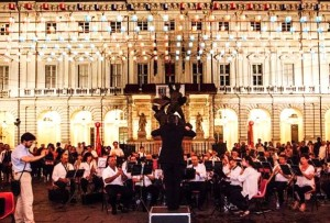 nightlife in turin includes the Festa della Musica with musicians performing the the piazza around the city