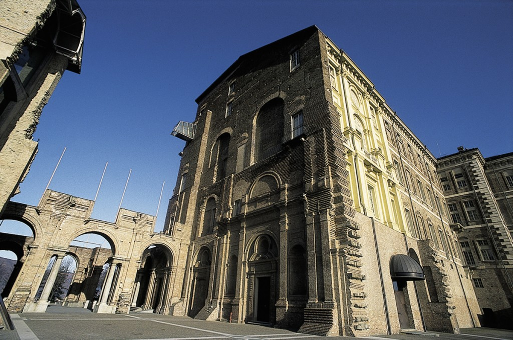 Turin arts includes contemporary art - an image of Castello di Rivoli Museum of Contemporary Art