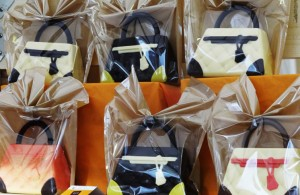 Turin's chocolate festival in the shape of purses