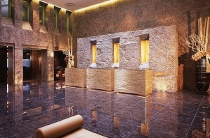 5 star hotels in turin - Golden Palace hotel reception