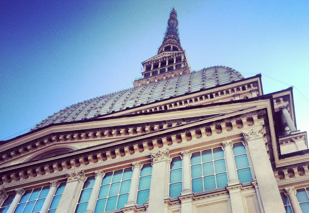 things to do in turin - exterior of the Mole Antonelliana national museum of cinema in turin