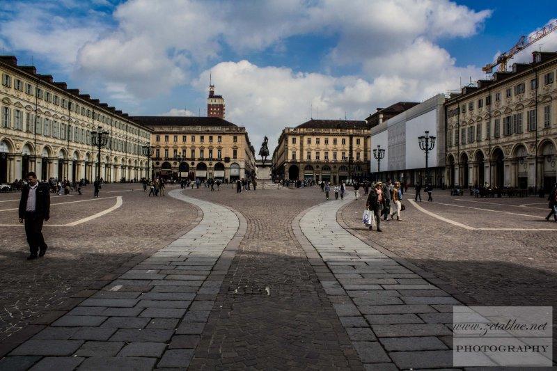 Turin's Piazza San Carlo
