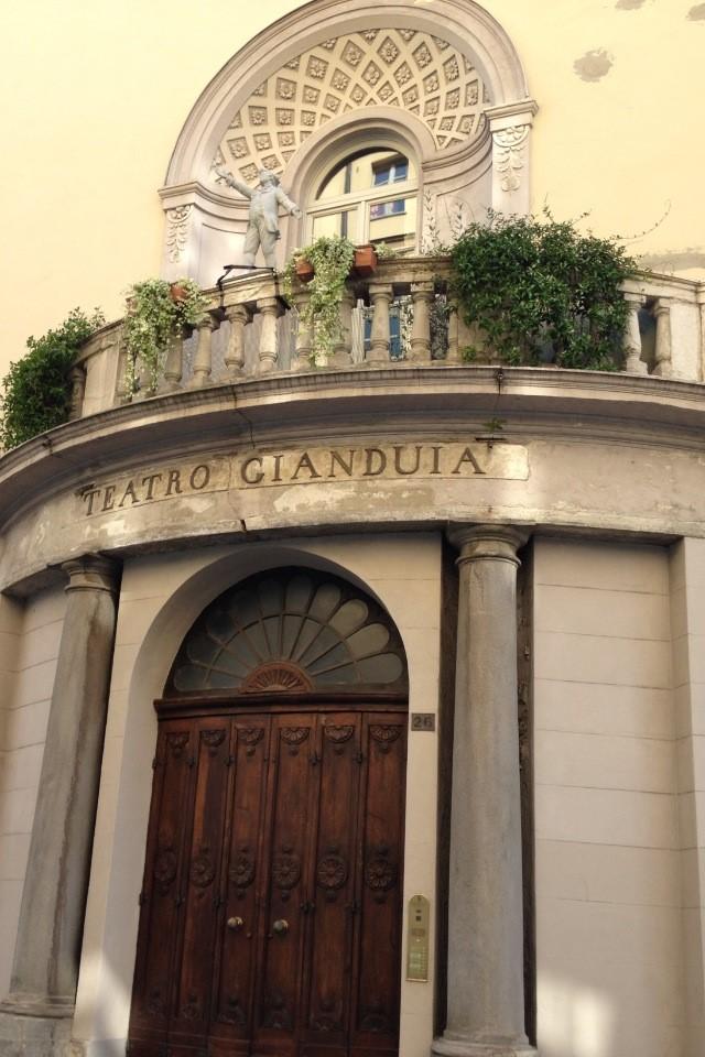 Teatro Gianduia, photo by Lara Statham