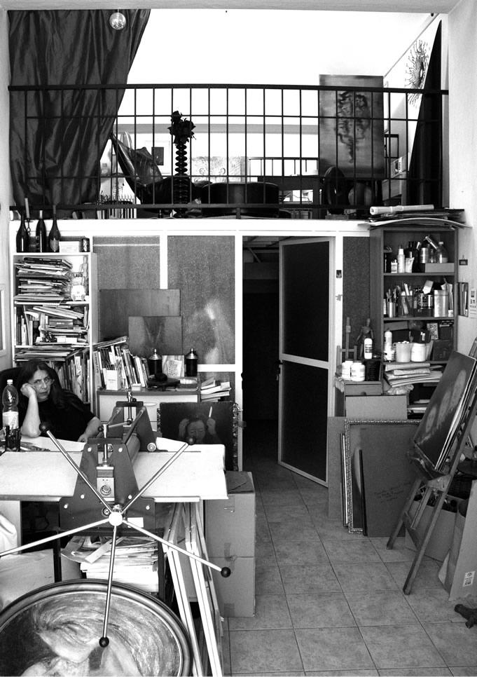 Arts - Mariella in studio