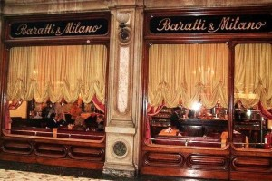 Top 10 Cafes and Bars in Turin - Baratti Milano historic cafe in turin