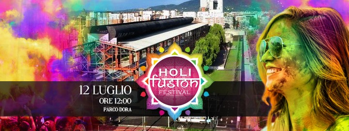 Holi Fusion Festival Turin - official poster