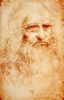 Leonardo DaVinci's Self Portrait