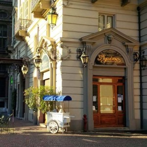 Pepino in Piazza Carignano - one of the top 10 places for gelato in turin