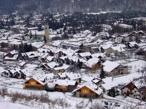 Bardonecchia panorama and village view - Bardonecchia a place for skiing in Piedmont