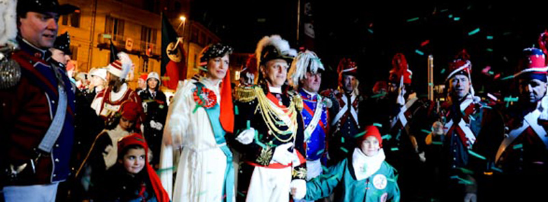 Ivrea Carnival - the General