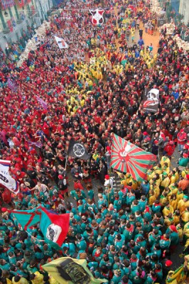 Ivrea Carnival - Piazza di Citta
