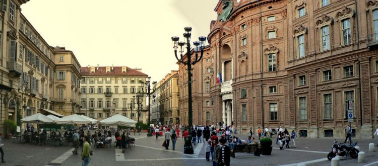 Piazza Carignano - compliments of Fly Torino