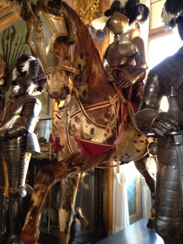 Armeria Reale - horses & soldiers