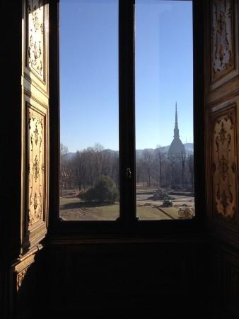 Palazzo Reale - view over Giardini Reali & Mole Antonelliana
