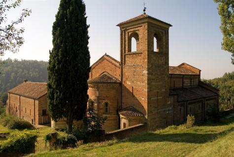 Vezzolano Abbey in Albugnano in Monferrato
