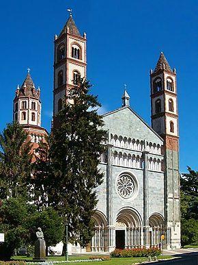 Vercelli, Piedmont - St. Andrew's Basilica