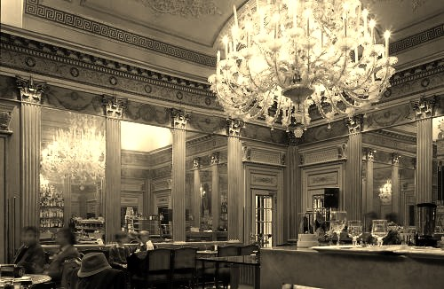 Caffe San Carlo a historic cafe in Turin