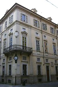 Palazzo Cavour in Turin, birthplace of Cavour