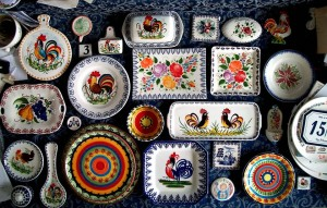 Besio ceramics from Mondovi are good souvenirs from Piedmont or a gift idea
