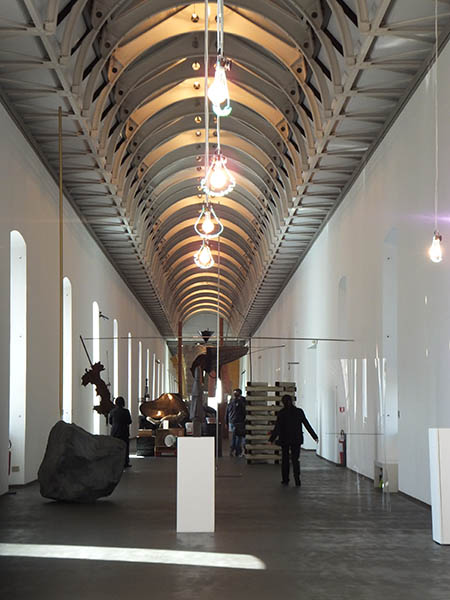 Castello di Rivoli interior - modern new wing