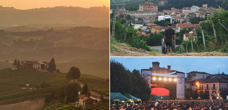 Passenger in Barolo in the Piedmont region - scenic photos of Barolo and vineyards