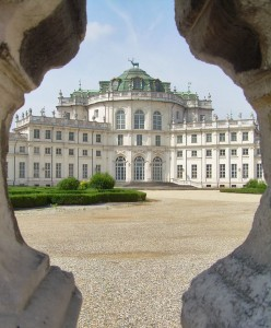 Turin for Kids includes the Stupinigi old royal hunting lodge just outside Turin - exterior view