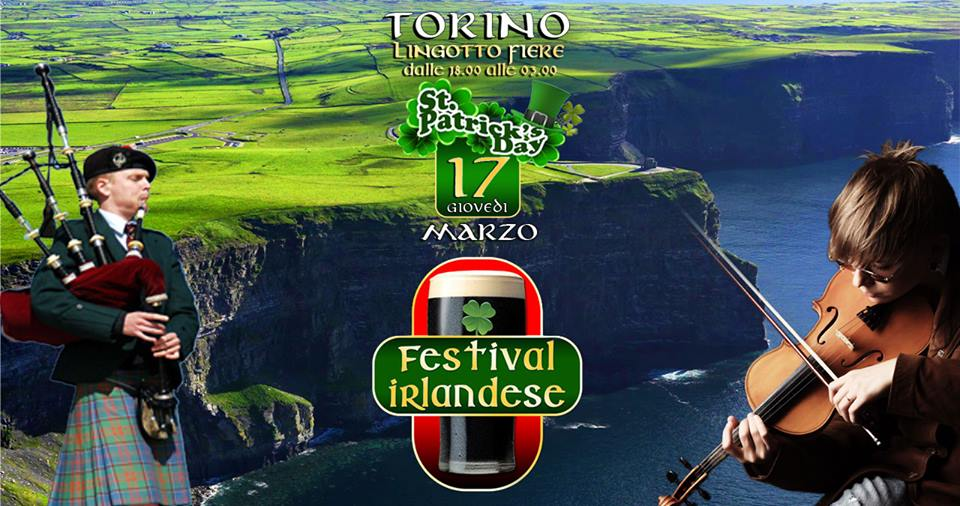 Turin Irish festival event photo with dates