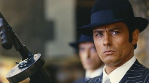 Gangster wearing Borsalino hat in movie