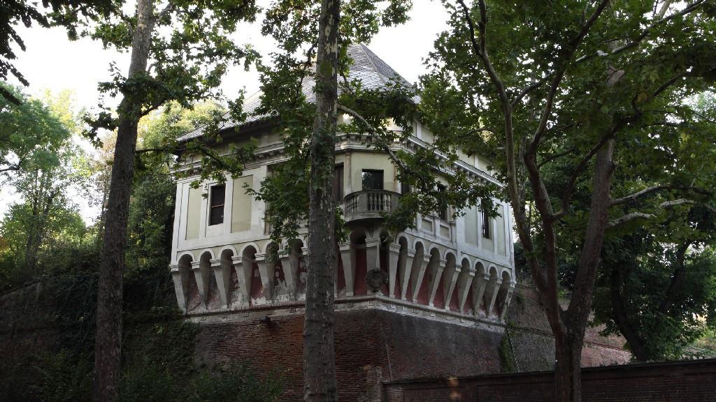 Turin's Royal Gardens - the Bastion Verde
