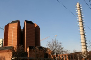 Santo Volto church facade