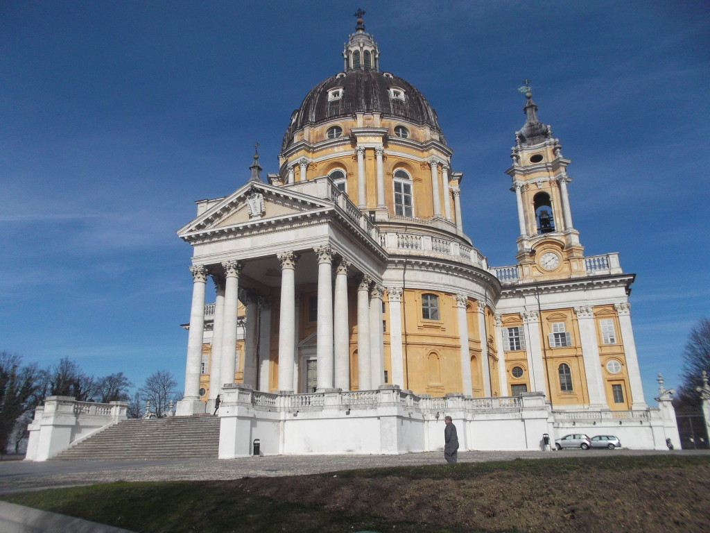 Basilica Superga - top 10 attractions in turin