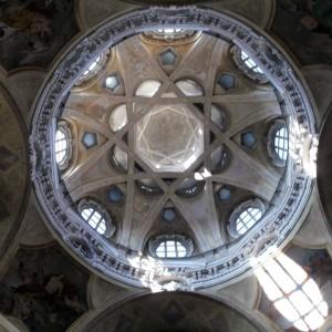 Cupola San Lorenzo in Turin Italy, an example of Turin's architecture