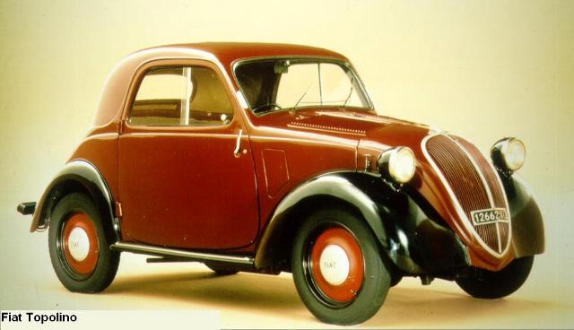 Fiat-500-topolino model
