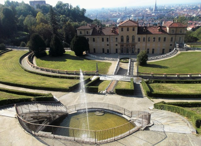 things to do in turin - Villa della Regina with city of Turin as backdrop