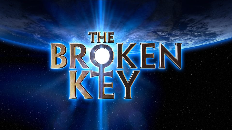 The Broken Key film text logo